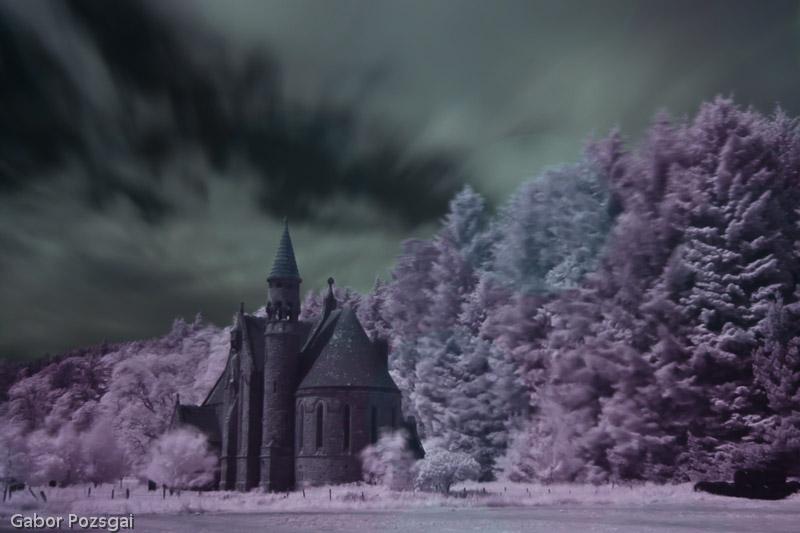 Photogabor com - St Palladius' Church, Glen of Drumtochty