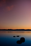 Lake of Menteith by sunset