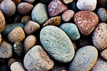 Seashore pebbles